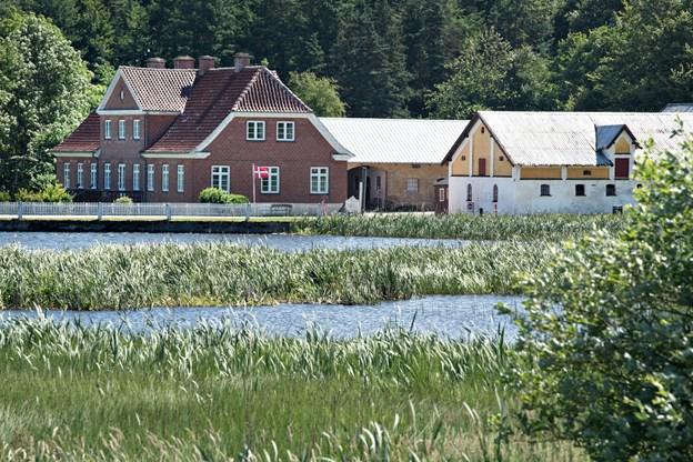 Ifølge en ny strategi- og arbejdsplan skal Dorf Møllegård også fremover kunne tiltrække museumsgæster. Arkivfoto: Hans Ravn