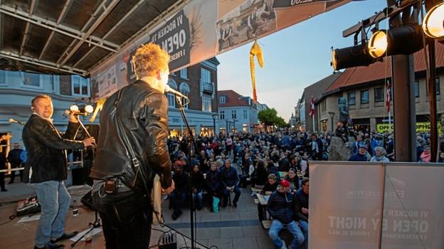 Østre Gasværk sluttede festdagen af med et rockende brag. MICHAEL MADSEN  OCTOMEDIA