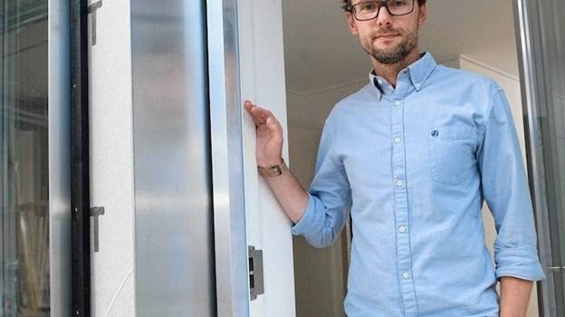 Vi tror på, at præfabrikeret modulbyggeri er nutidens og fremtidens bæredygtige byggemetodik, hvilket vi ser frem til at være en af de markedsledende leverandører indenfor, slutter direktør Tom Mikkelsen. Foto: Mogens Thomsen