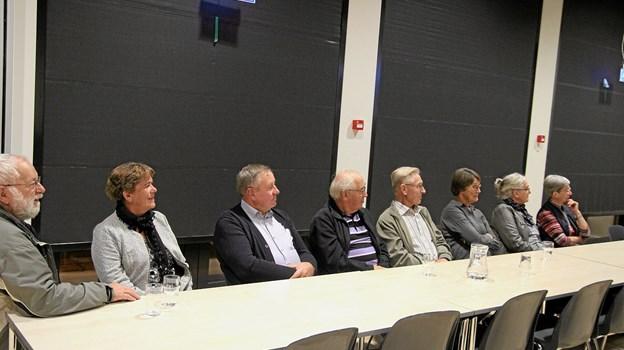Der blev lyttet til et godt og spændende foredrag. Foto: Flemming Dahl Jensen