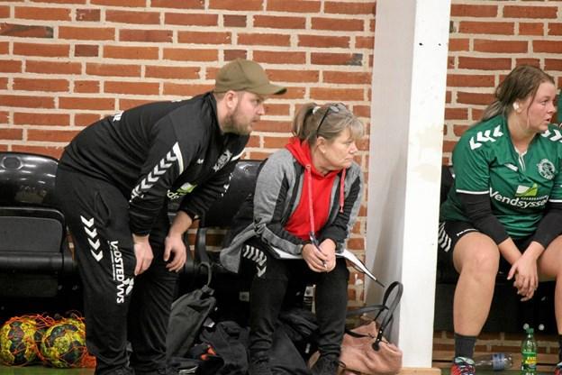 Træner Lasse Jensen fik ingen point i lokalopgøret. Foto: Flemming Dahl Jensen Flemming Dahl Jensen