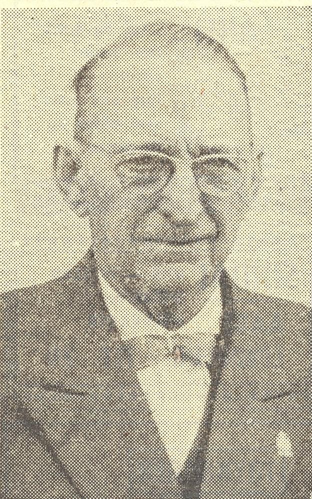 Arkitekt Julius Berg (1886-1967). En flittig mand med mange visioner. Også en byplan for Skagen puslede han med.