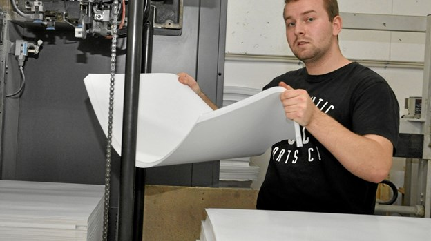 Selv så elementær en ting som at lægge pair i maskinen kan også være en af opgaverne ved konkurrencen. Foto: Ole Torp Ole Torp