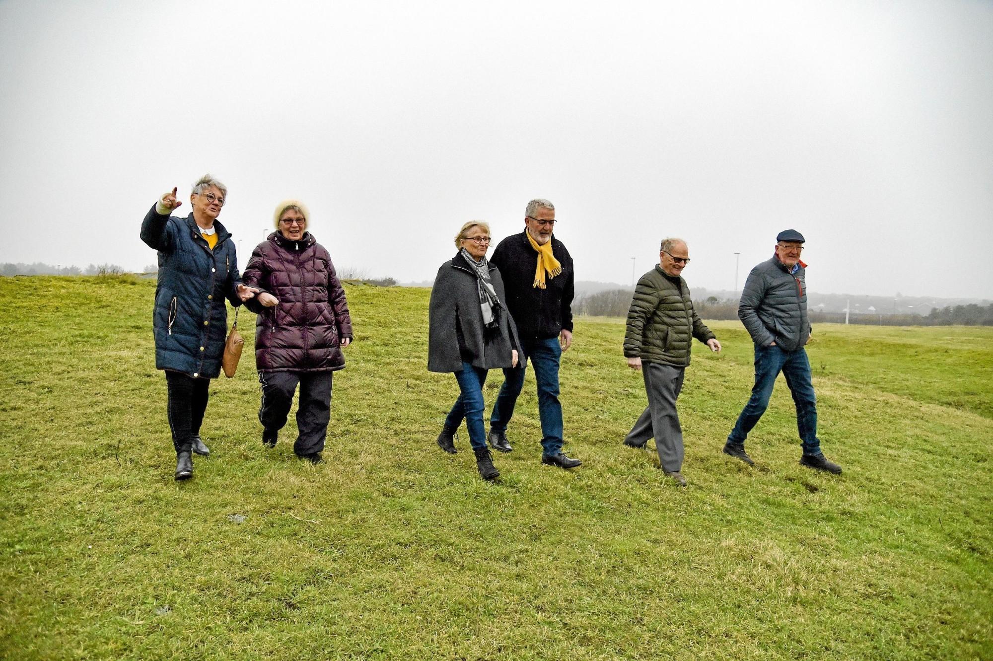 Vi er mange i Hanstholm der gerne vil blive ældre i Hanstholm - men der skal være nogle gode boliger at flytte ind i - helst med fællesskab. Foto: Ole Iversen