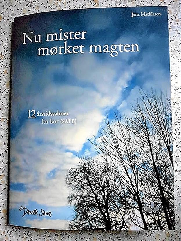 Udgivelsens forside er prydet af et billed fra Præstegårdshaven i Svenstrup ved kyndelmisse Foto: Karl Erik Hansen