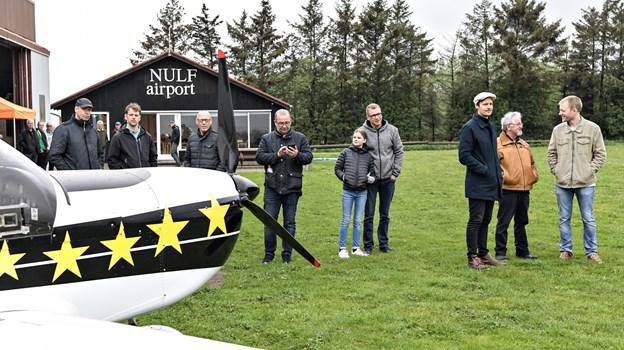 28. april var der åbent hus på lufthavnen i Brønderslev, hvor NULF holder til.Foto: Bent Bach BENT BACH