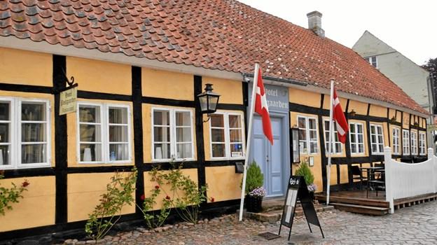 Hotel Postgaarden - en vigtig del af Mariager - har igen slået dørene op. Foto: Jesper Bøss Jesper Bøss