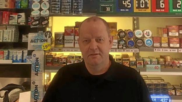 Jesper Veng er ny forpagter på OK Plus i Brovst. Privatfoto