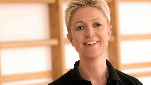 Fysioterapeut Annemette Kirkskov indleder klinikken tilbud om rygtræning efter GLA:D-konceptet. PR-foto