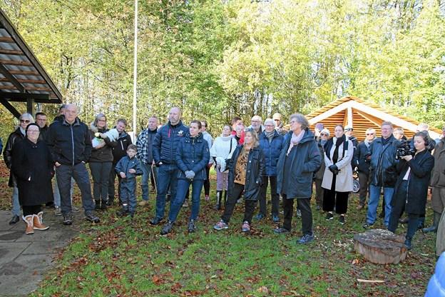 Mange var mødt frem for at høre om projektet. Foto: Flemming Dahl Jensen