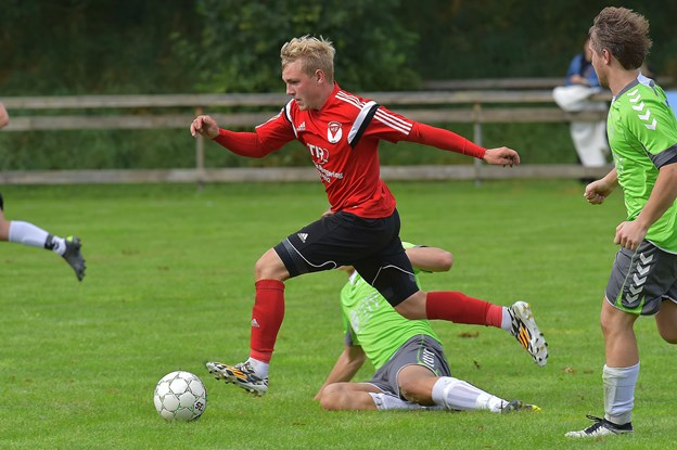 Sponsoraftalen støtter fodbolden og håndbolden i Frøstrup Hannæs. Foto: Ole Iversen