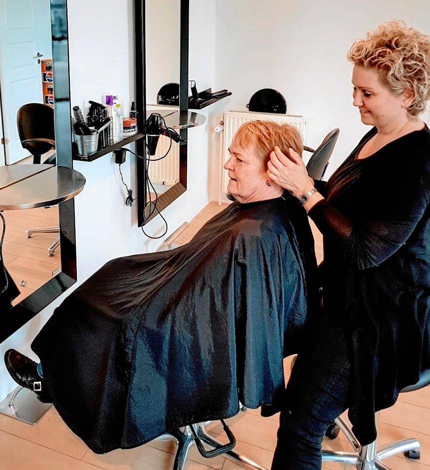 salon hairstyle svenstrup