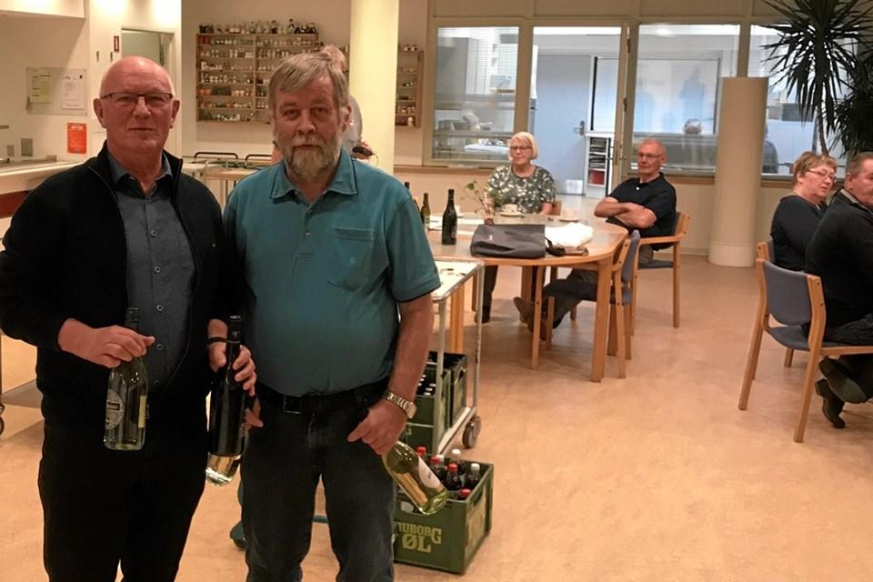 Klubmestre 2018/2019 og vindere af A-rækken - Jens Ole Christiansen og John Christiansen. Foto: Kasper Mølbæk