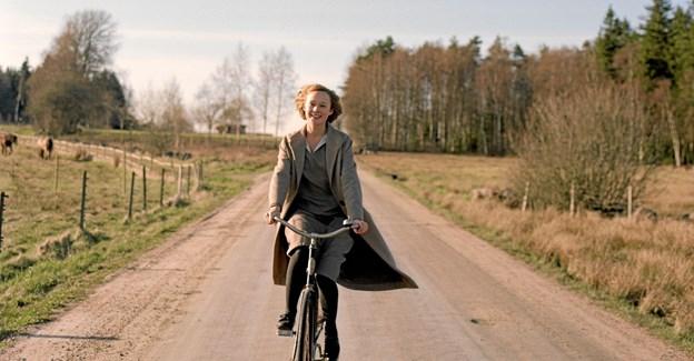 Rollen som den unge Astrid Lindgren spilles af Alba August. Foto: Erik Molberg Hansen. Hans Jørgen Callesen