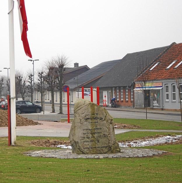 Mindestenen i Møldrup. Privatfoto