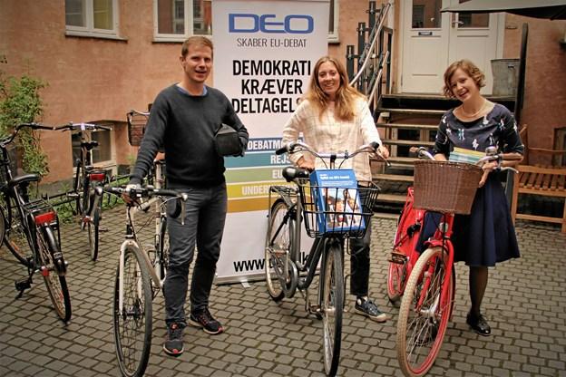 Kasper Tonsberg Schlie, Maria Rosenberg Rasmussen og Helga Molbæk-Steensig.