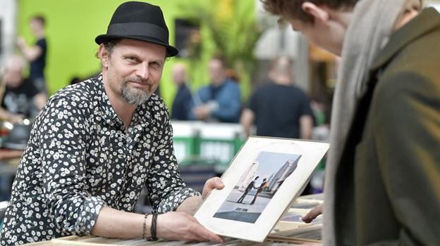 Heine Søndergaard Andersen oplever stor interesse for endnu en Pladebørs. Arkivfoto: Henrik Bo