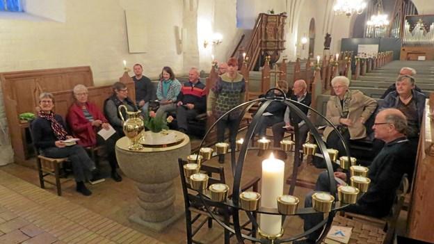 Morgensang som her i Vrensted kirke foregår for tiden i konfirmandstuen. Foto: Arkivfoto