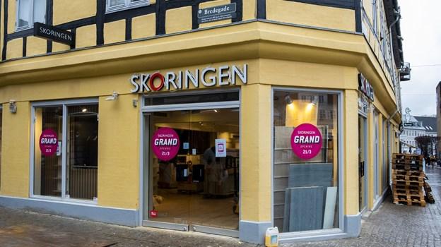 Butikken er renoveret, og inventaret er skiftet ud. Foto: Lasse Sand