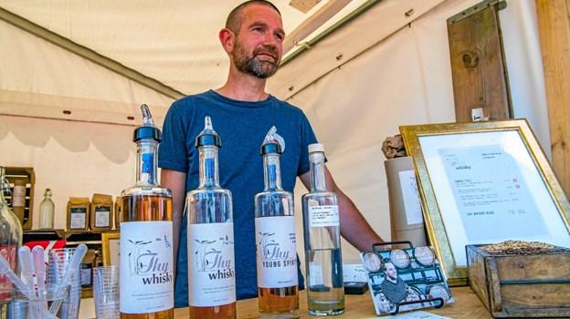 30 lokale producenter af Thy-specialiteter er med til årets Smag på Thy - også Thy Whisky. Arkivfoto