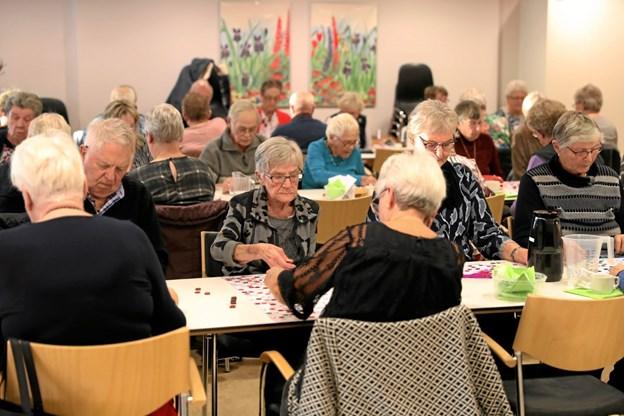 Godt 60 deltagere havde fundet vej til arrangementet. Foto: Allan Mortensen