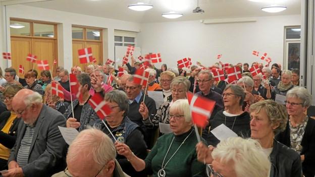 Verdensmesterskabet blev markeret. Foto: Kirsten Olsen Kirsten Olsen