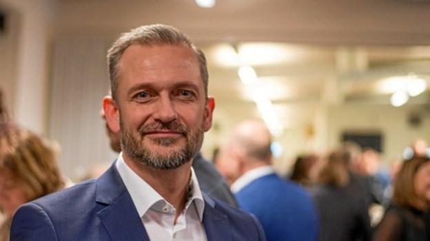 Salgsdirektør Bo Mortensen fra SSI Schäfer erklærer sig for sin del tilfreds med udbyttet af nytårskuren. Privatfoto
