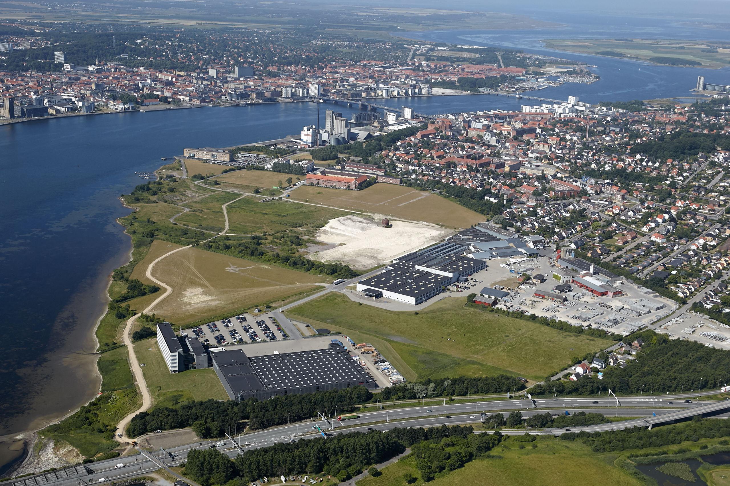 Stigsborg bliver en af de første bydele i Danmark, der skal udvikles med udgangspunkt i FN's verdensmål. Foto: Stigsborg P/S