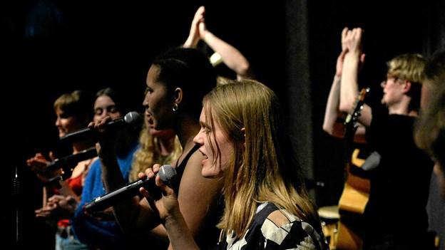 18 musikalske indslag var på scenen. Privatfoto Foto: Allan Mortensen Allan Mortensen