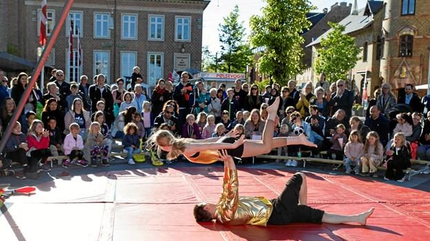 Cirkus Tordenskrald for fuld udblæsning MICHAEL MADSEN  OCTOMEDIA