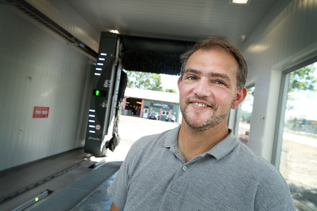 Torben Jensen skal som direktør for naboværkstedet Dit Autoværksted stå for tilsynet og den daglige drift af vaskehallen.