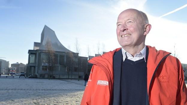 Johannes Bjerre giver foredrag 24. januar i Hjallerup Kulturhus.Arkivfoto: Bente Poder