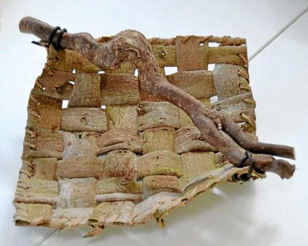 Dette og andre arbejder fra Kunst i Klejtrup kan du se på søndag i Sognehuset på Skårupvej. Privatfoto