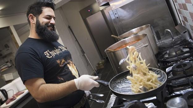 Konceptet bygger kort og godt på italiensk pasta, der er lavet fra bunden.