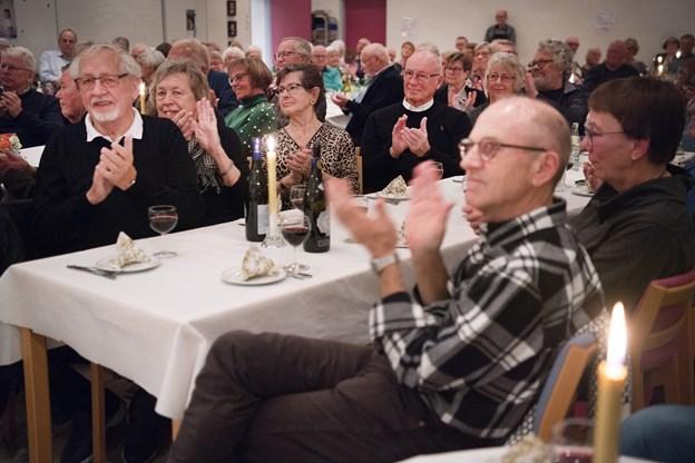 Der var grund til at klappe meget denne aften i Sydfløjen - og det gjorde vi gerne. Foto: Hans Ravn
