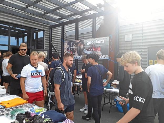 Aalborg Sneakers og Kultur Marked løber af stablen 6. oktober på Aalborg Streetfood. Privatfoto