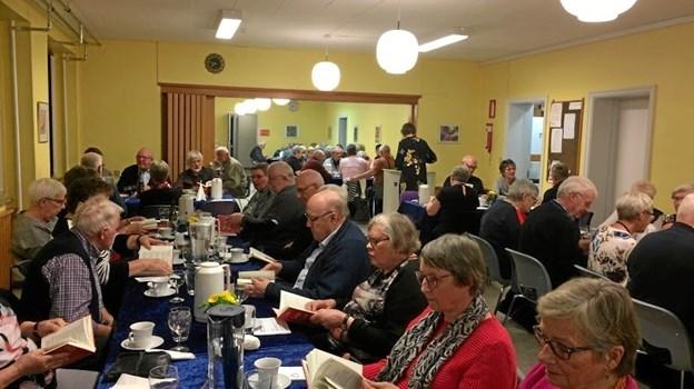 Ældre Sagen i Løgstør tæller alt i alt cirka 1950 medlemmer. Over 100 af dem havde fundet vej til foreningens årsmøde. Privatfoto