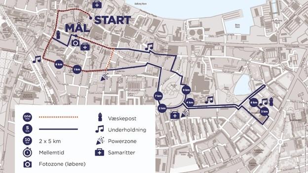 Der er tilmeldt flere end 12.000 løbere til årets udgave af Royal Run. Grafik: DGI