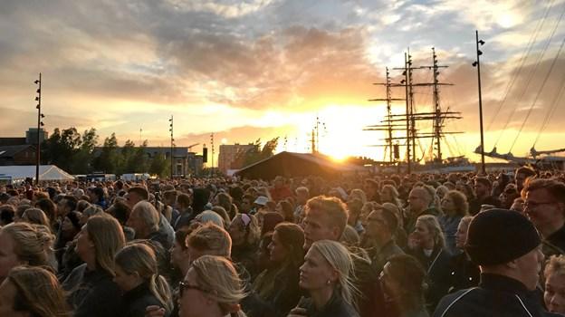 I alt er der planlagt 70 koncerter til dette års Tall Ships Races. Foto: Katrine Brix