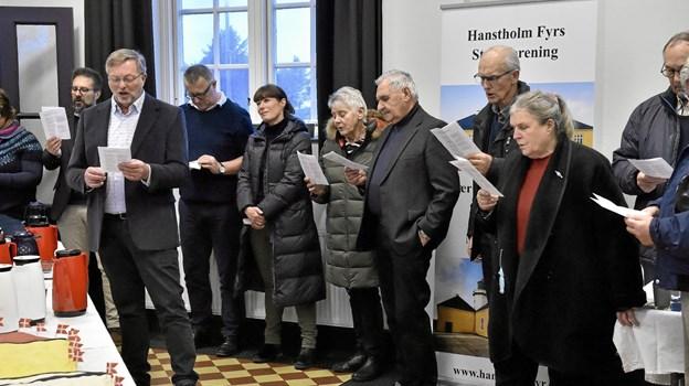 Godt 100 fyrinteresserede var mødt op til 175 års fødselsdagen. Foto: Ole Iversen Ole Iversen