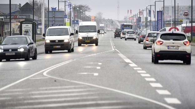 En hyggelig mitby og en trafikal belastet Frederikshavnsvej er i fokus hos Hjørring Handel i 2019.