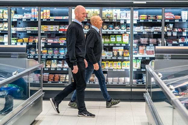 Christian Bast Nielsen og Rikard Andersen ejer den nye forretning i fællesskab. Foto: Martin Damgård