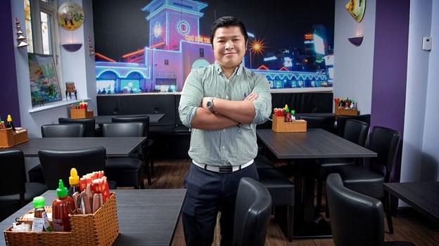 An Tri Ly glæder sig til at byde gæsterne velkommen i sin nye restaurant og takeaway. Foto: Lars Pauli