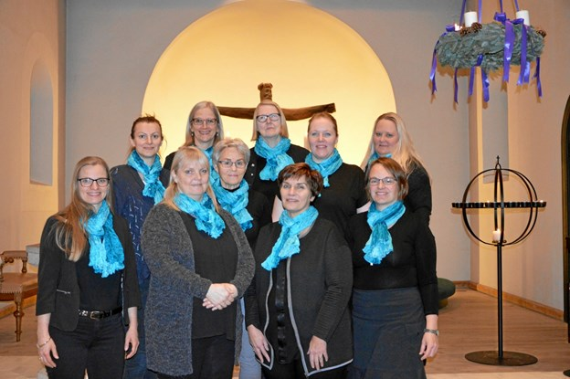 Voksenkoret i Støvring-Gravlev-Sørup sogne - er her og nu åbent for flere nye stemmer af begge køn. Privatfoto