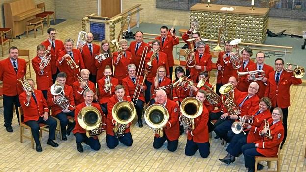 Aalborg Postorkester. Foto: privat.