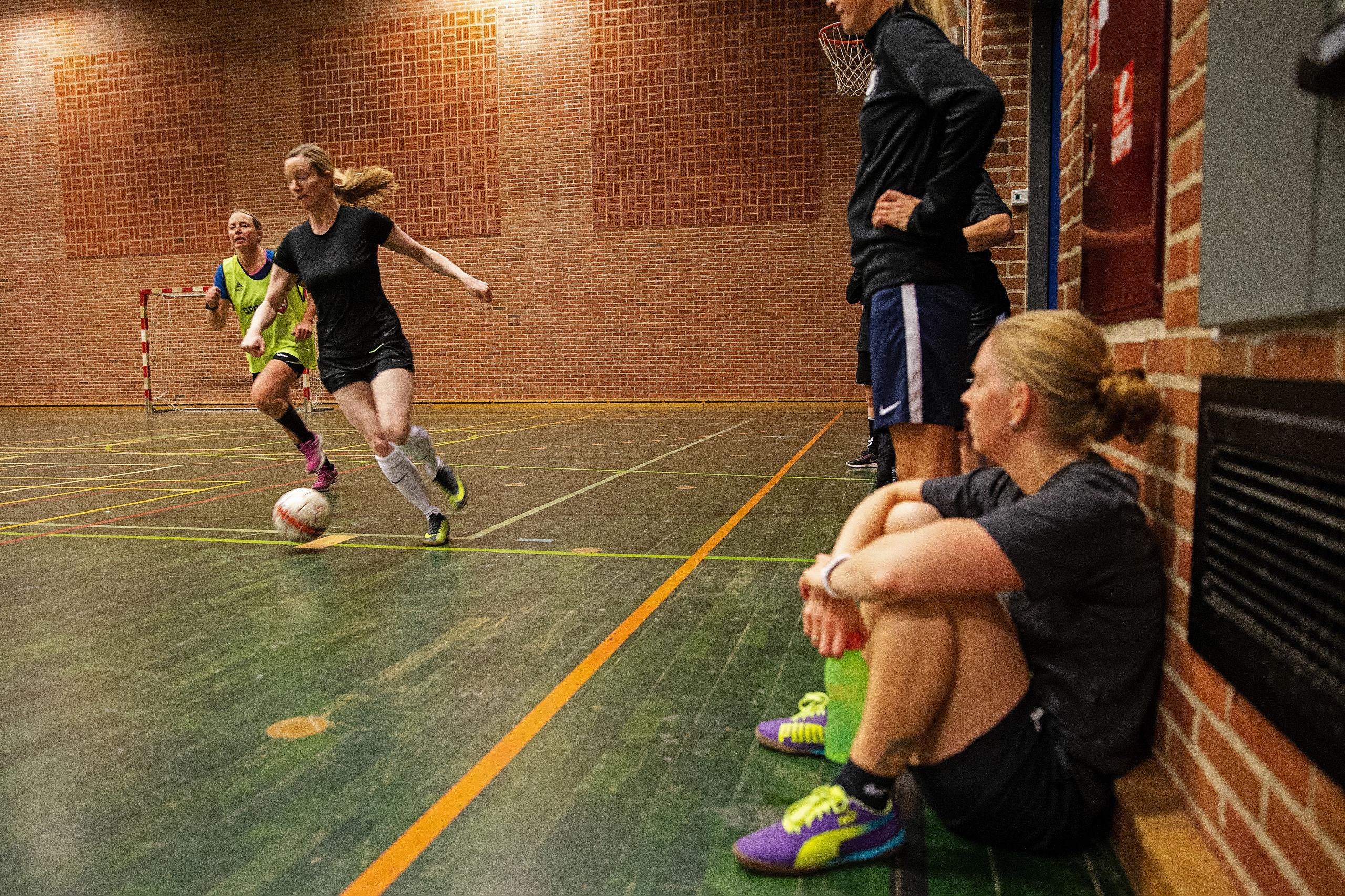 Flere dyrker idræt i en forening i Aalborg. PR-foto