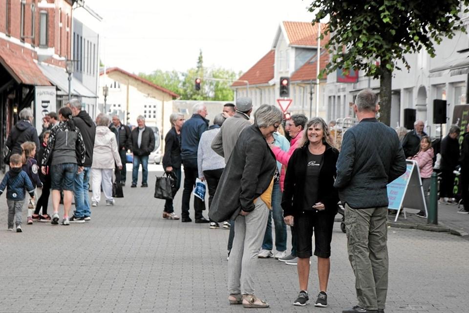 Sommer og masser af hygge i Sindal. Foto: Peter Jørgensen Peter Jørgensen