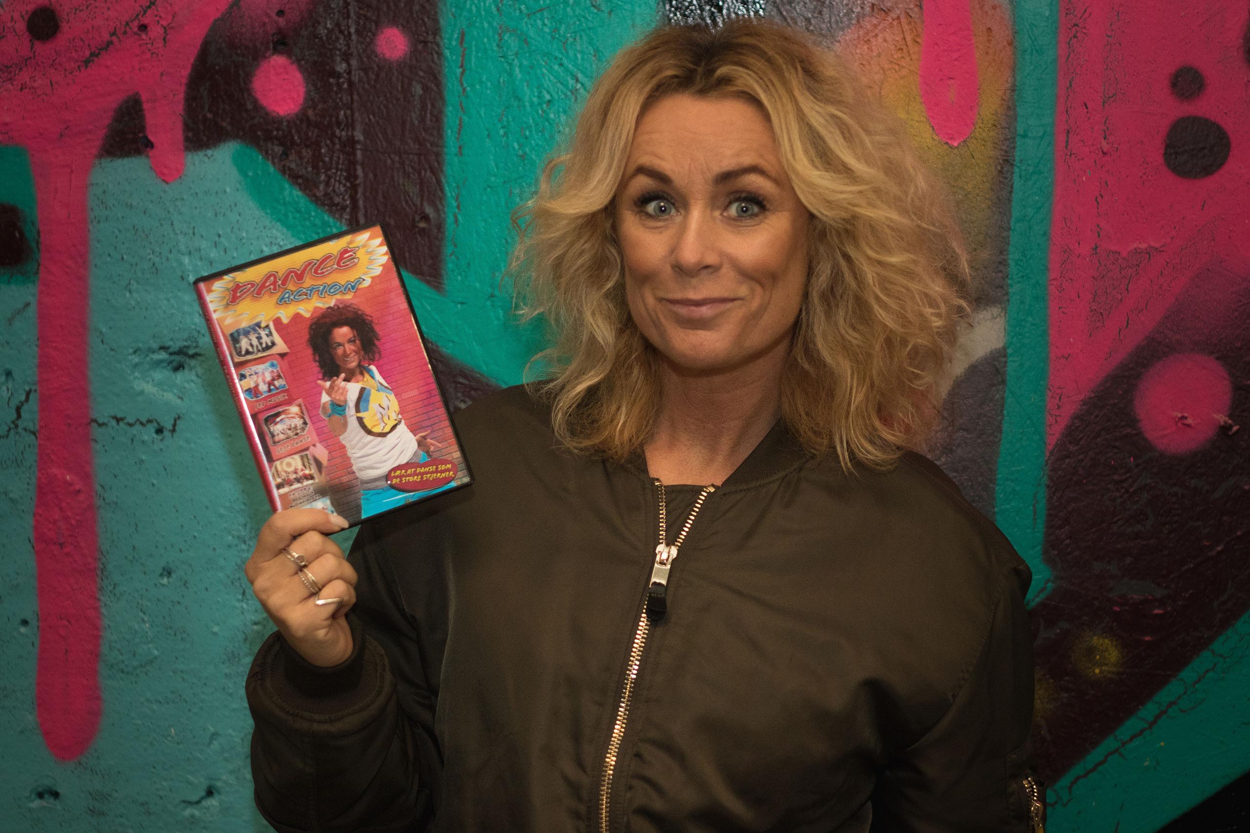 Rikke Bruun Mortensen stod bag den første danse-DVD ... nu tager hun et nyt, digitalt danseskridt. Privatfoto