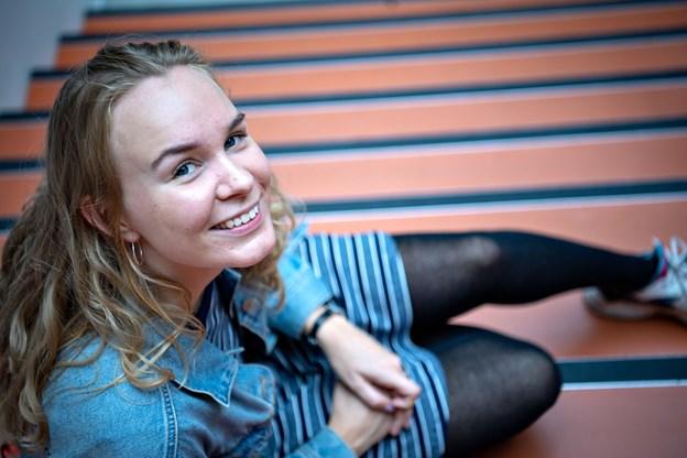 Louise Josefsen fremhæver, at Aalborg har mange tilbud til studerende.