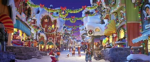 Julen er selvfølgelig kridhvid i den lille by Hvemstrup.